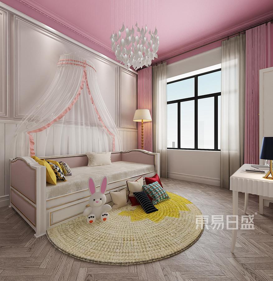 新古典儿童房一个温馨的小房间