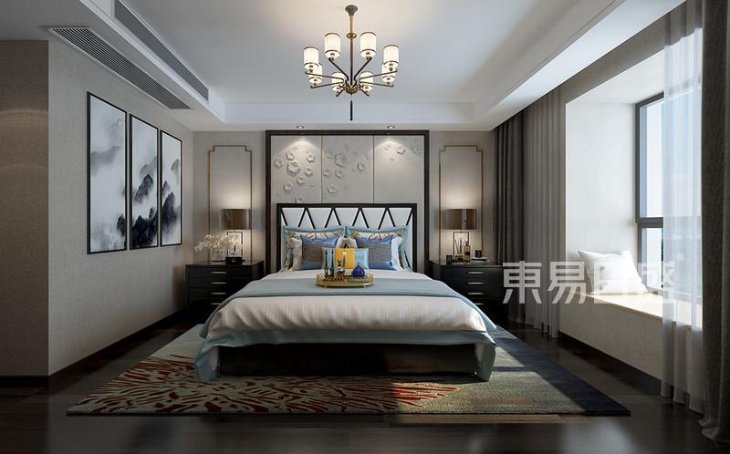 新中式主卧室装修