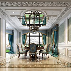 青竹园659平米法式风格独栋别墅