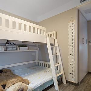 九龙湖融园125㎡北欧风格儿童房