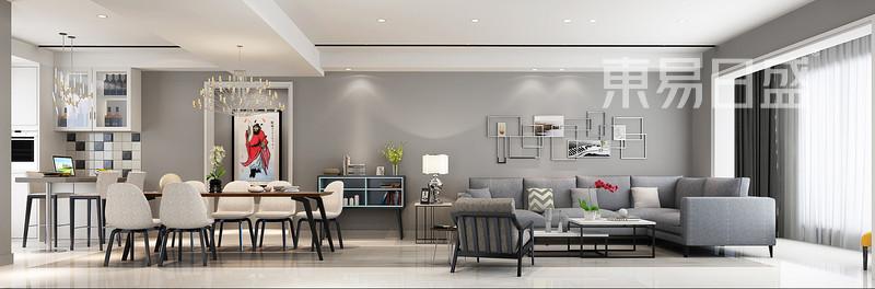 143平米新房装修预算怎么做,中信新城-客厅