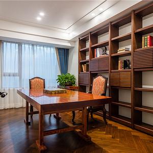 小美风格书房装修设计效果图