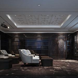欧式古典风格 地下室装修效果图
