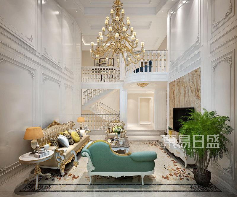 法兰西风格别墅装潢性状style成果图