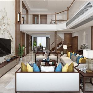 中海独墅岛新中式300㎡