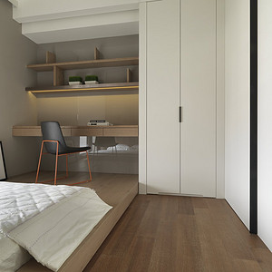 绿城百合-台式-卧室实景