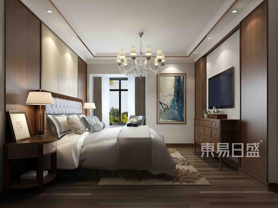 珠江城-新古典风格-卧室装修效果图