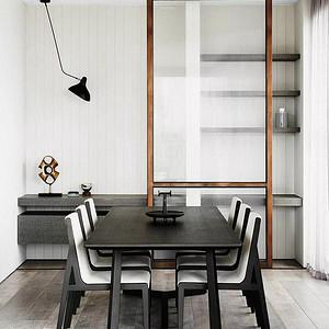 二居室-现代简约-实景图