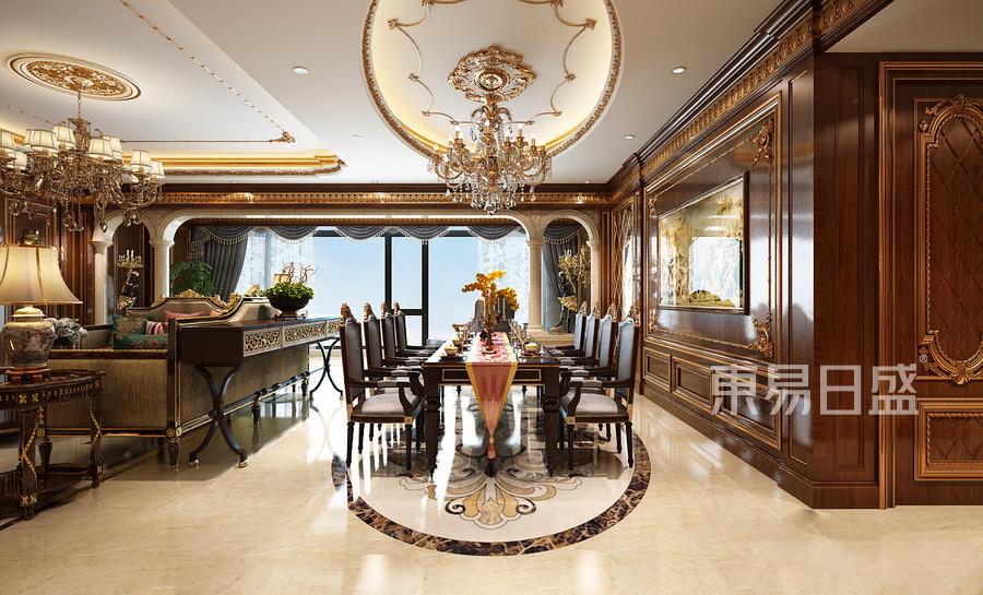 别墅-新中式-效果图