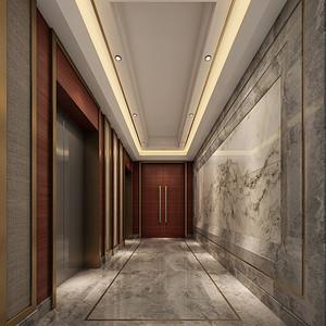 新中式风格 玄关装修效果图