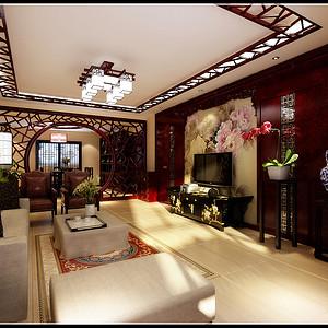 万寿路28号院 新中式 四居室装修