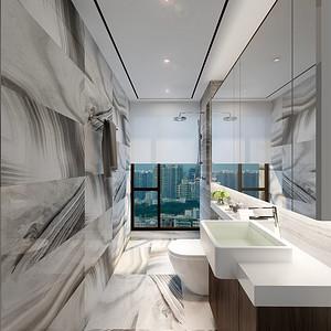 壹方中心 其他风格 洗手间装修效果图