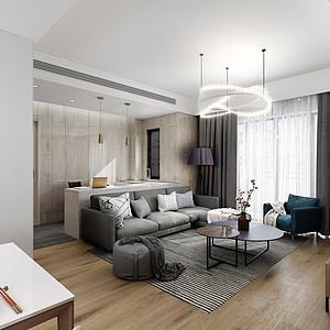 广州星河湾200㎡美式风格五房二厅装修效果图