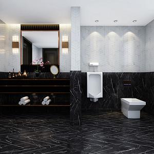 新中式会所-卫生间
