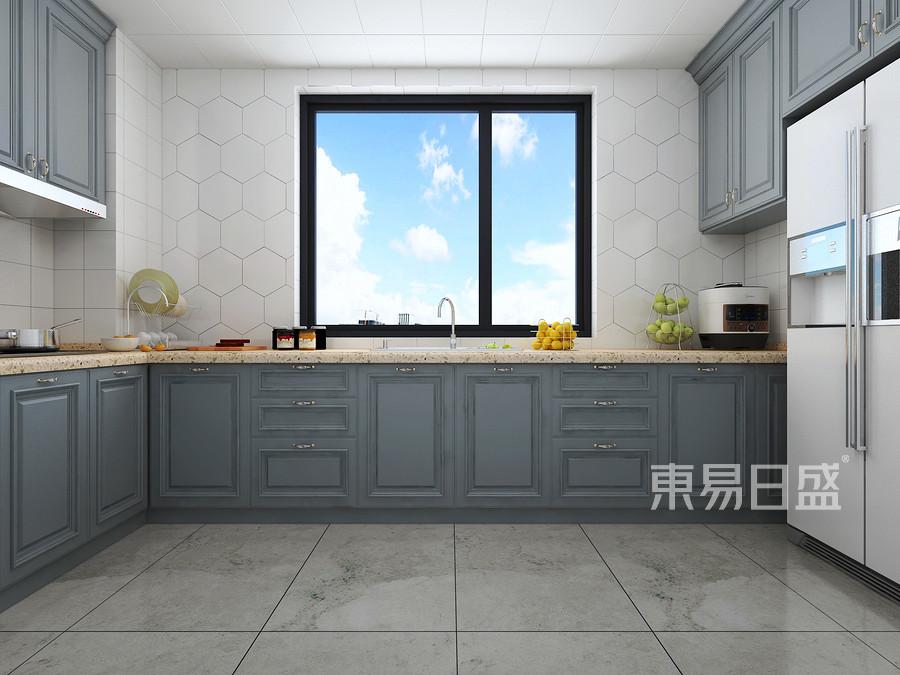 美式轻奢风格厨房装修设计