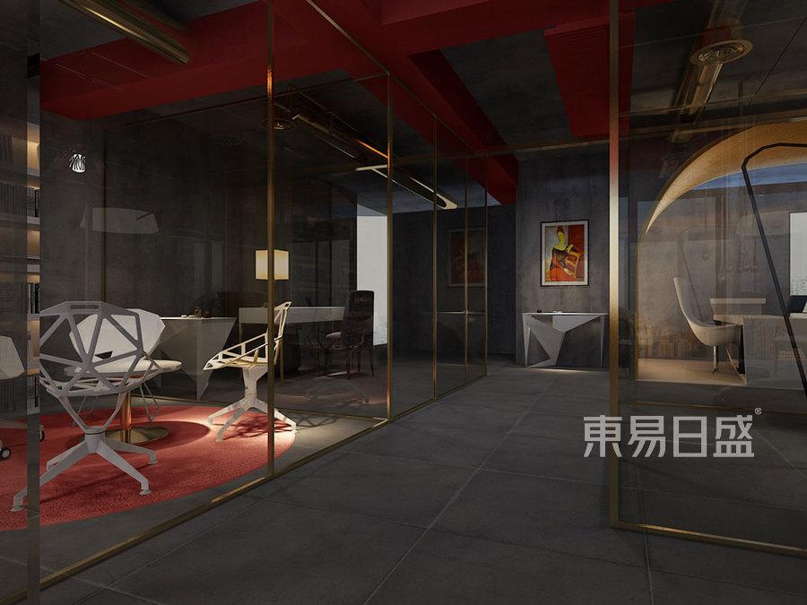 现代前卫-洽谈室-办公室装修效果图