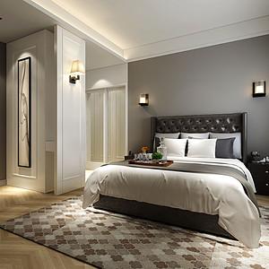 轻奢-平层-卧室