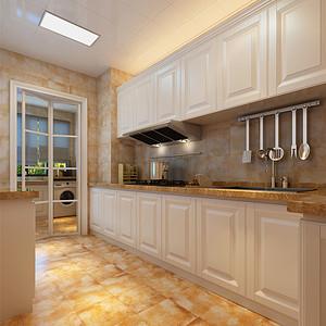 融创中心欧式风格厨房装修效果图