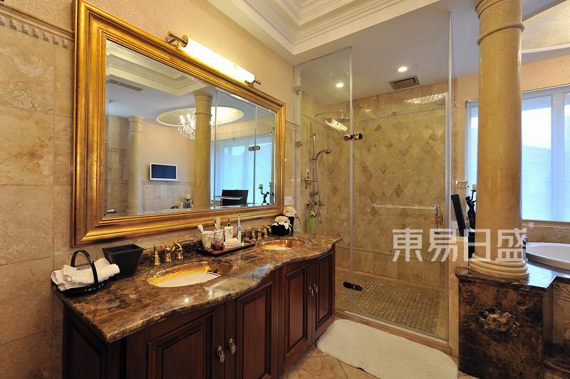 欧式古典 - 古典欧式风格浴室装修效果图