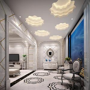 新古典装修风格 客厅装修效果图