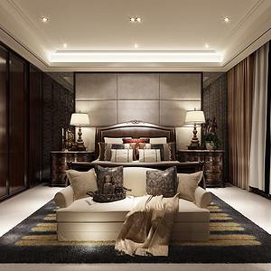 西西安小镇240平法式现代奢华设计装修效果图