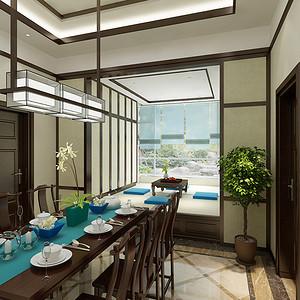 帝景豪庭--新中式风格