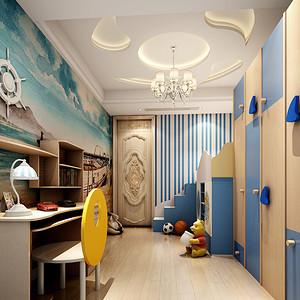 欧式古典风格儿童房装修效果图