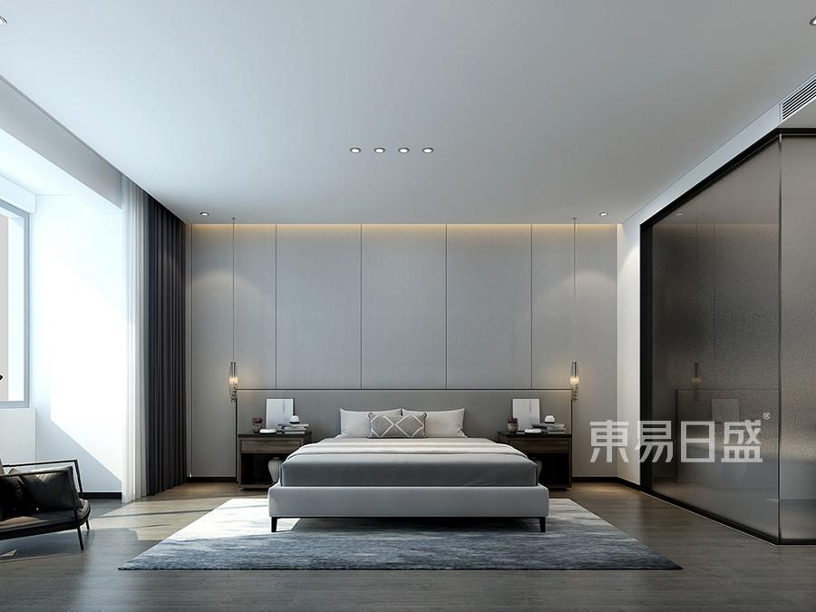 现代极简风格卧室装修效果图