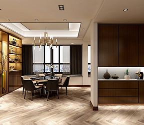 玄关装修设计图:超大的玄关收纳空间,外观整洁大方且兼顾实用的同时不忘人文的关怀。