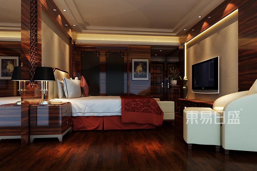 万科二期独栋-新中式-卧室