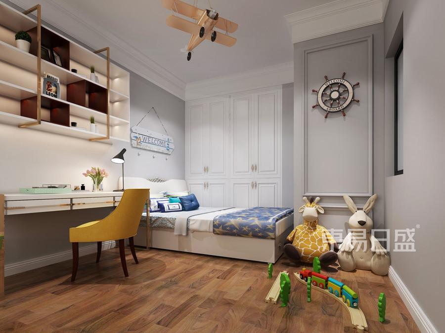 虎门公寓-法式轻奢-儿童房装修效果图