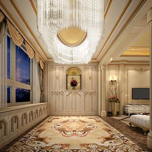 欧式古典风格 进门玄关装修效果图