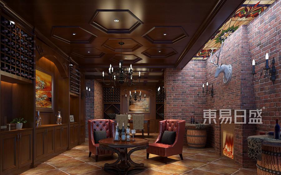 400风格欧式地方酒窖效果图源清别墅别墅锦特殊图片