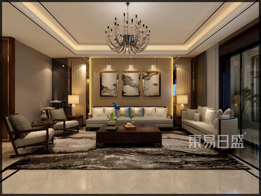 金沙湖现代典雅客厅