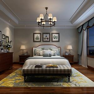 美式古典风格卧室