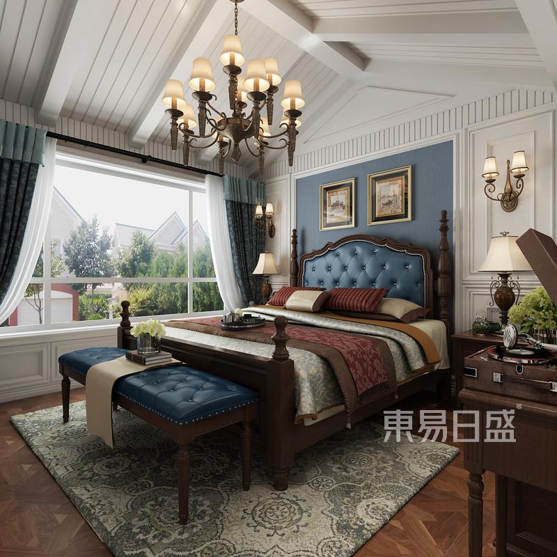 美式乡村 - 简美风格卧室