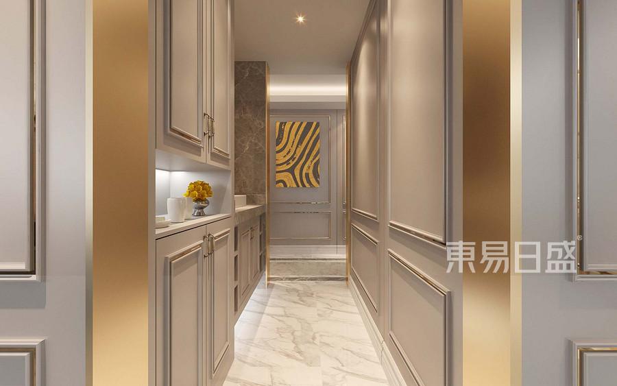 现代轻奢风格走廊装修设计