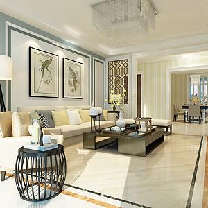 省公安厅宿舍130平三室二厅现代简约风格装修案例
