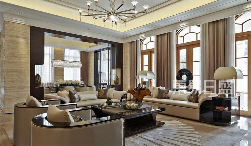 美式-客厅
