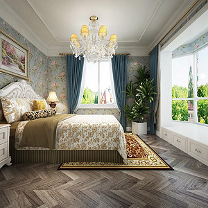 世纪金源公寓 欧式风格 儿童房装饰