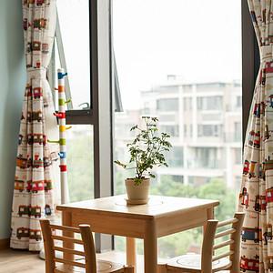 栖园160平现代简约风格阳台装修图