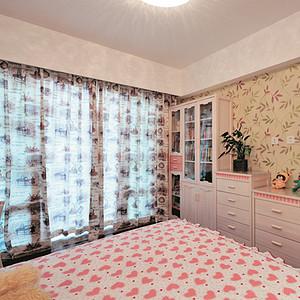 甜美雅致 粉色系卧室