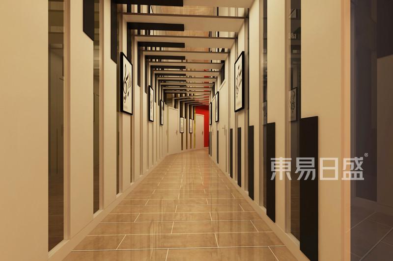 攸縣培訓學校現代風二樓鋼琴房過道_其他效果圖大全