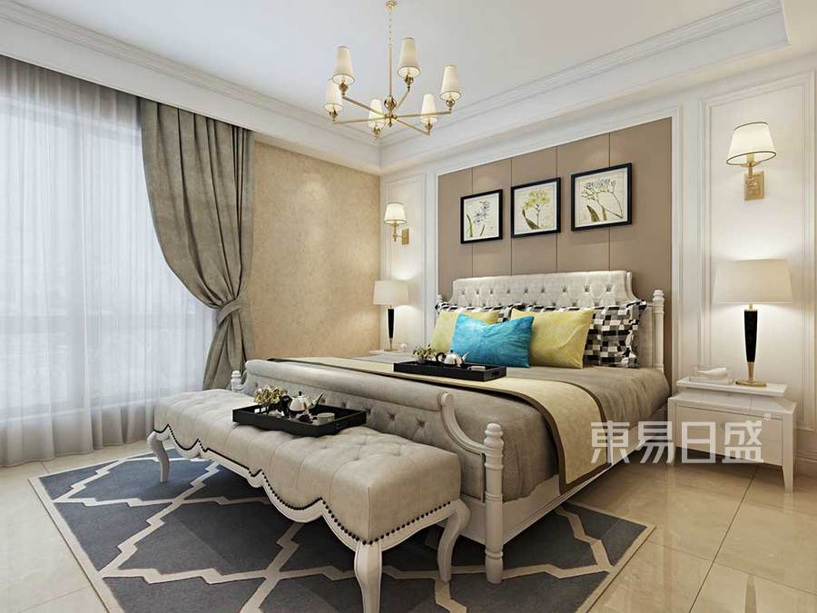 卧室家具造型优雅复古