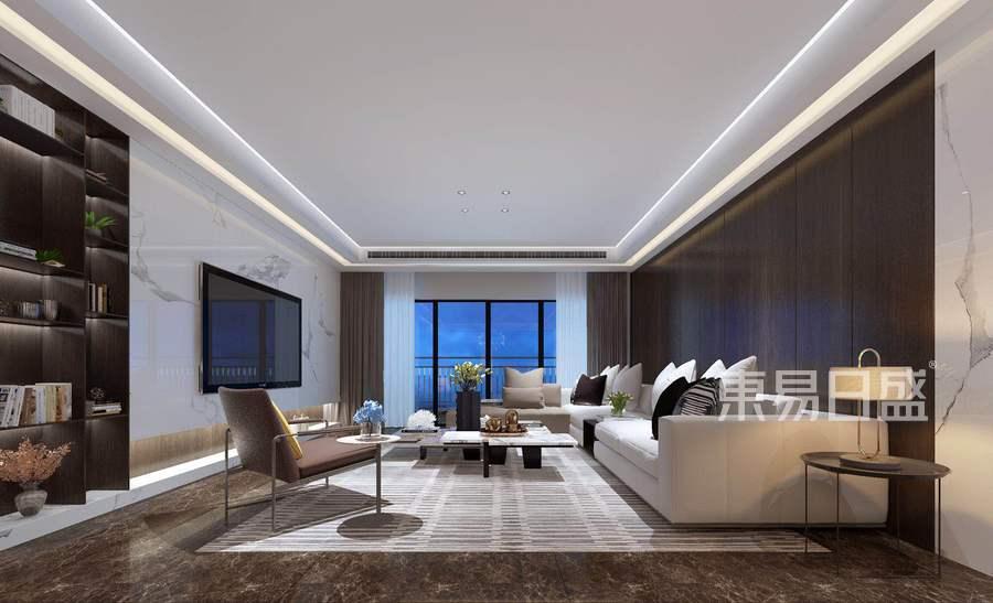 融侨观邸-现代风格-客厅