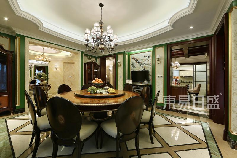 暗香 独栋别墅新古典风格案例实景图