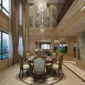 美式古典风格餐厅
