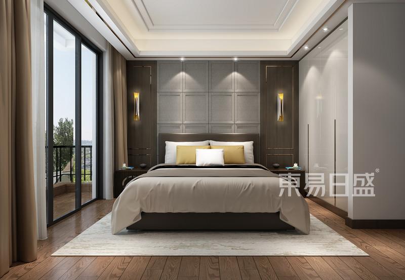 设计师刘会娇轻奢卧室设计