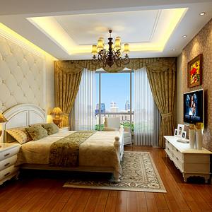 百合花园 欧式新古典 卧室