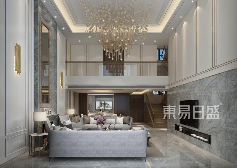 设计师刘会娇轻奢客厅设计